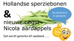 Nieuw binnen lekker Hollands