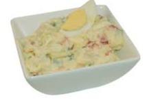Scharrel ei salade