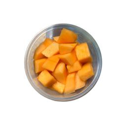 Gesneden cantaloupe meloen