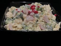 Bloemkool broccoli salade