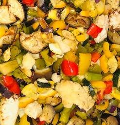 Gegrilde groente de luxe  300 gram