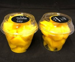 Mango blokjes