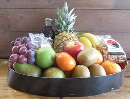Fruitschaal groot Noten