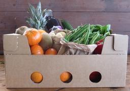 Gezonde Groente en fruitbox
