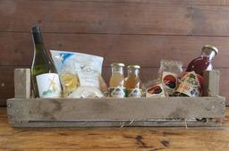 Kistje Wijn, Sap, Noten en Chips